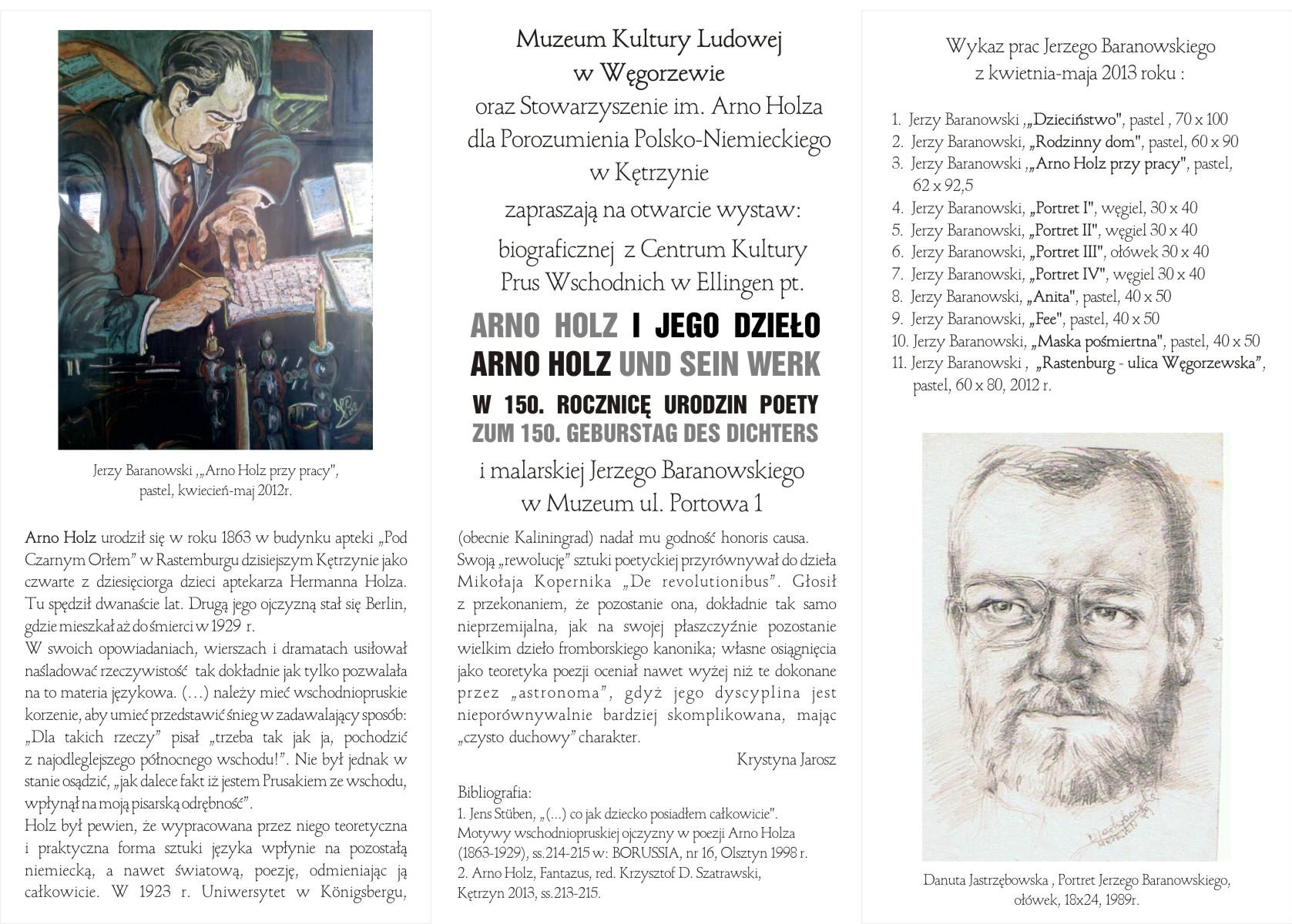 FOLDER zaproszenie - Arno Holz str.2