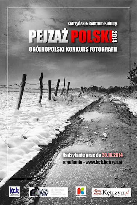 Plakat Pejzaz Polsk 2014 malyi
