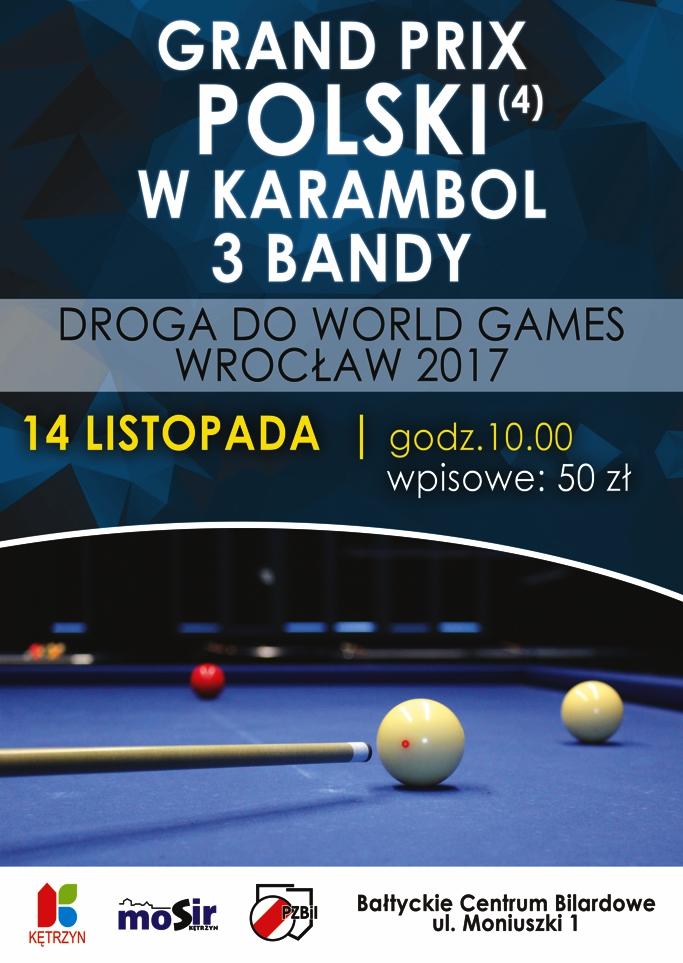 4 kolejka Grand Prix Polski w Karambol – 3 bandy