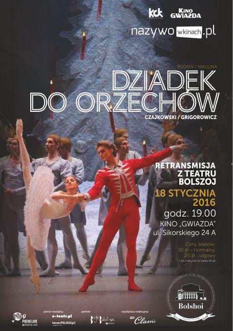 """Teatr Bolszoj """"Dziadek do orzechów"""""""""""