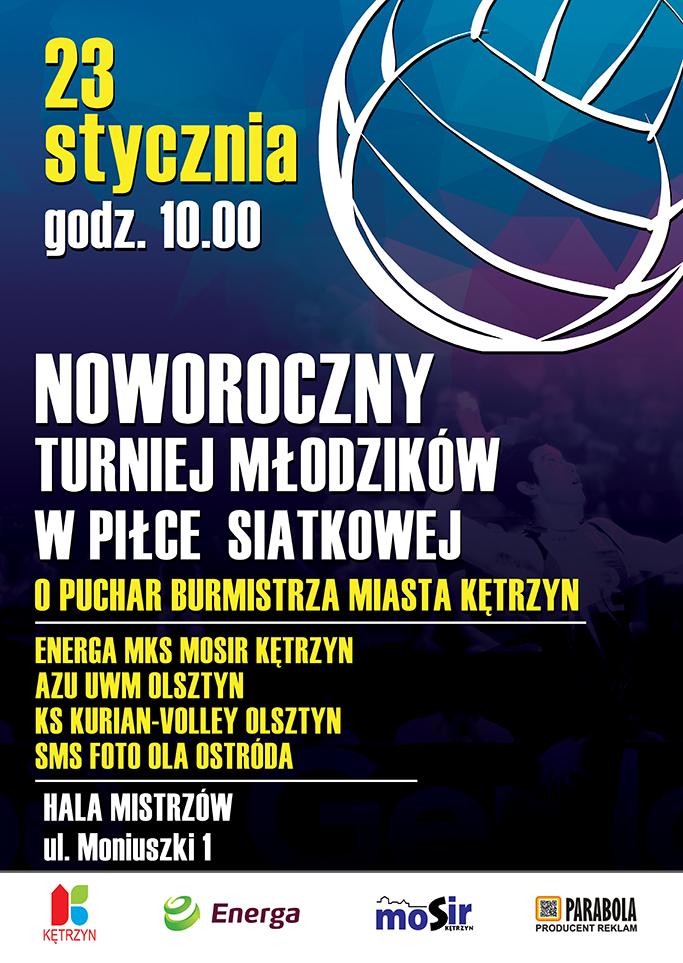 Noworoczny Turniej Młodzików w Piłce Siatkowej
