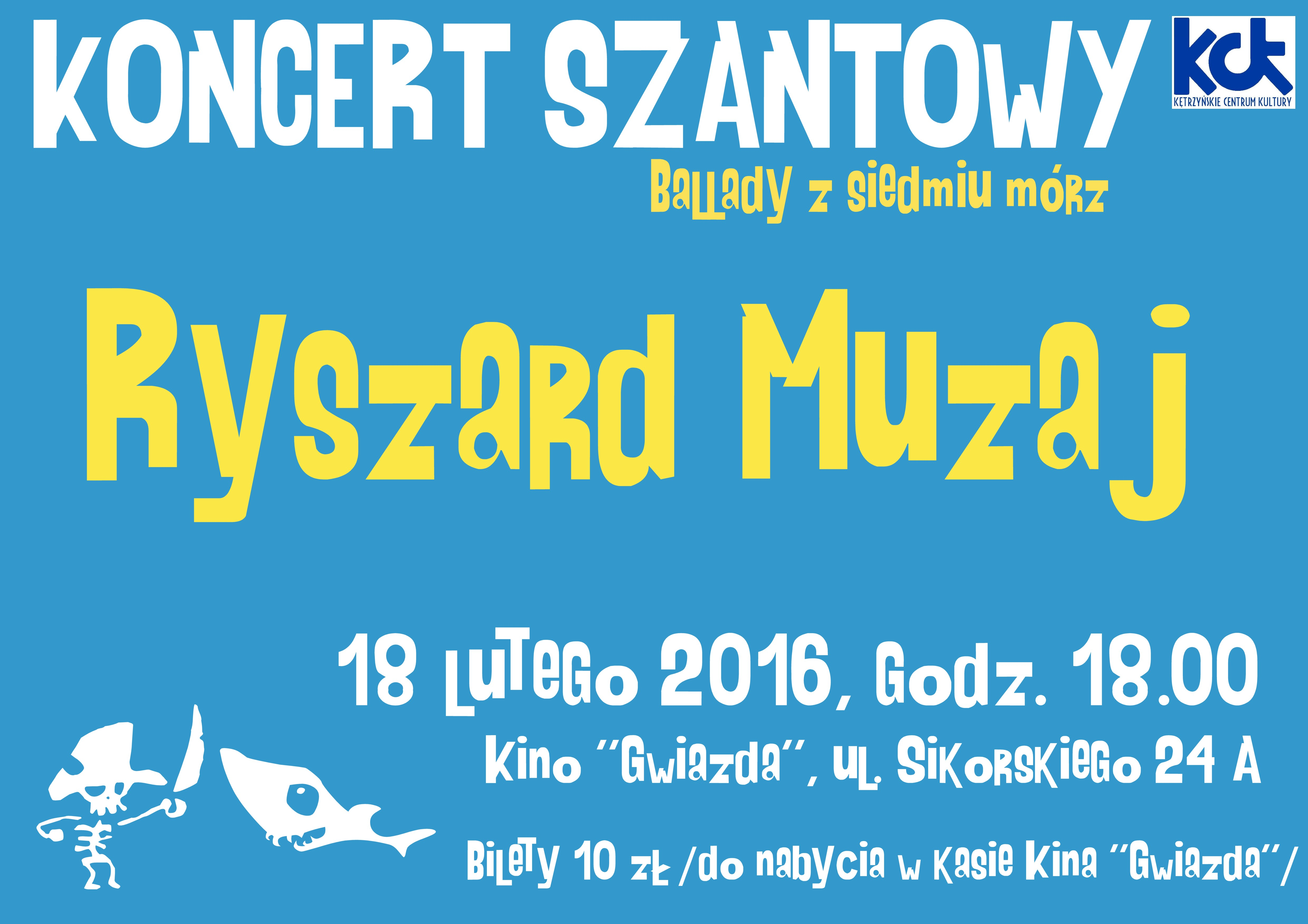 """KONCERT SZANT """"Ballady z siedmiu mórz"""""""