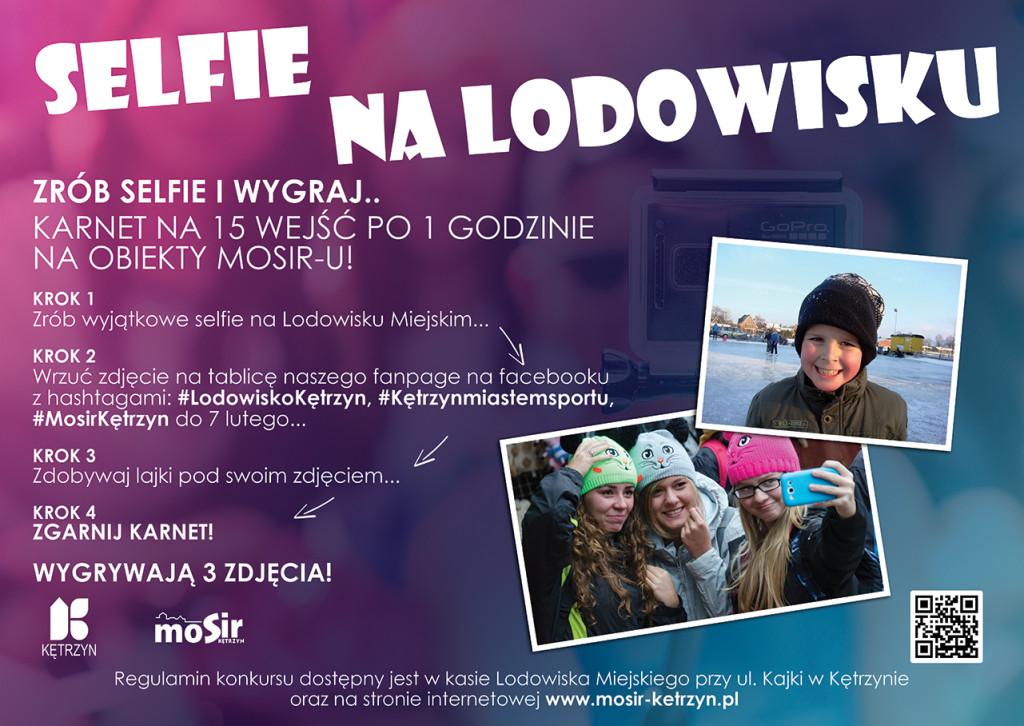 Selfie na Lodowisku!