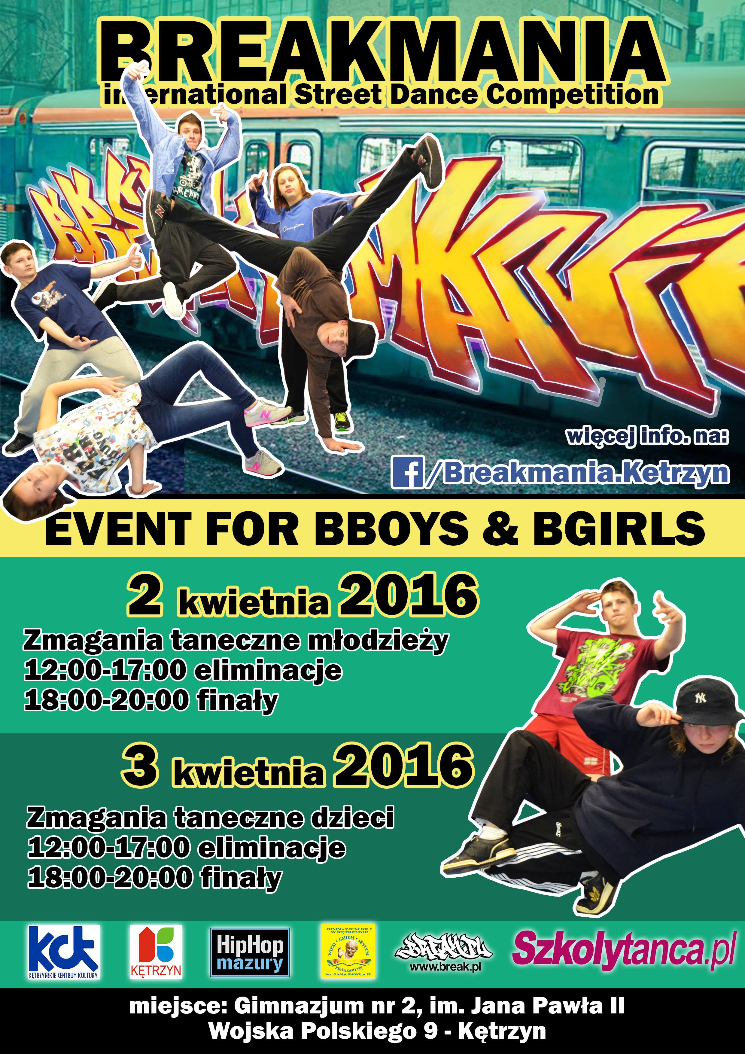 Breakmania 2016 - BBOYING
