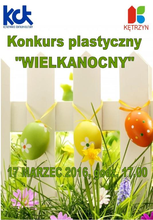 """Konkurs plastyczny """"WIELKANOCNY"""""""