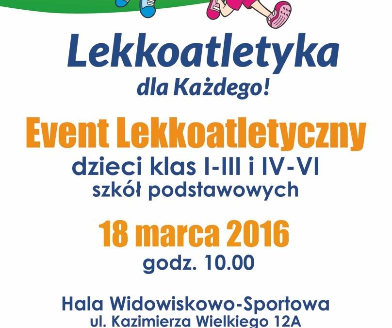 Event Lekkoatletyczny Szkół Podstawowych