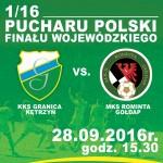 1/16 Pucharu Polski: KKS Granica Kętrzyn - MKS Rominta Gołdap