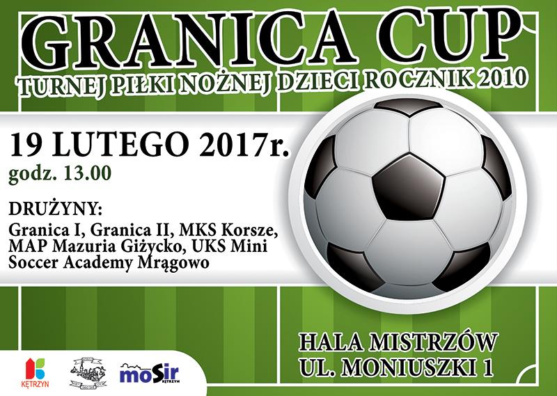 Turniej Piłki Nożnej Dzieci – Granica Cup – rocznik 2010