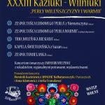 XXXIII Kaziuki-Wilniuki