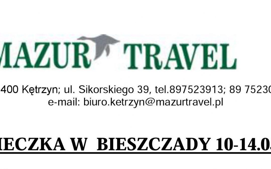 Majówkę spędź w Kętrzynie, a później w Bieszczady :)
