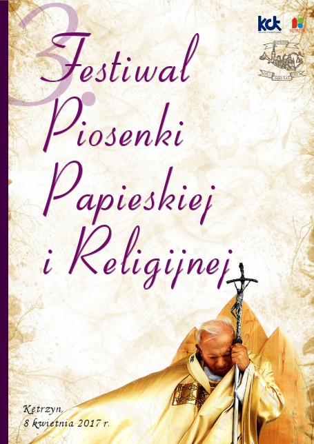 3. Festiwal Piosenki Papieskiej i Religijnej
