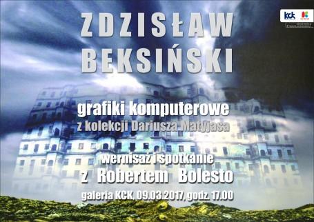 Zdzisław Beksiński – grafiki komputerowe z kolekcji Dariusza Matyjasa