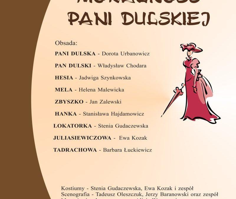 """Moralność pani Dulskiej"""