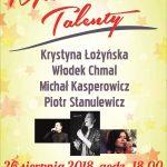 Mazurskie Talenty 26.08.2018 18:00