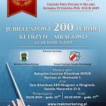 Grand Prix Polski w Pool Bilard Jubileuszowy 200 turniej Kętrzyn- Mrągowo 23-24.03.2019 10:00