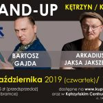 STAND-UP 24.10.2019 godz. 19.00