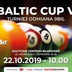 BALTIC CUP V TURNIEJ ODMIANA 9BIL 22.10.2019 10:00