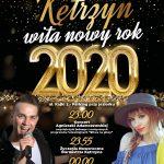 Kętrzyn wita nowy rok 2020